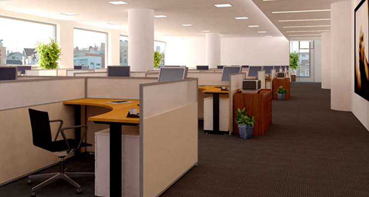 modern office interior design gurgaon