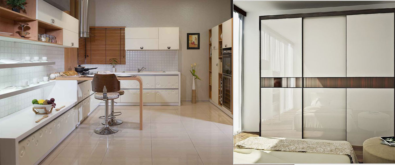 interior designing company for Wardrobes and Modular Kitchen Design
